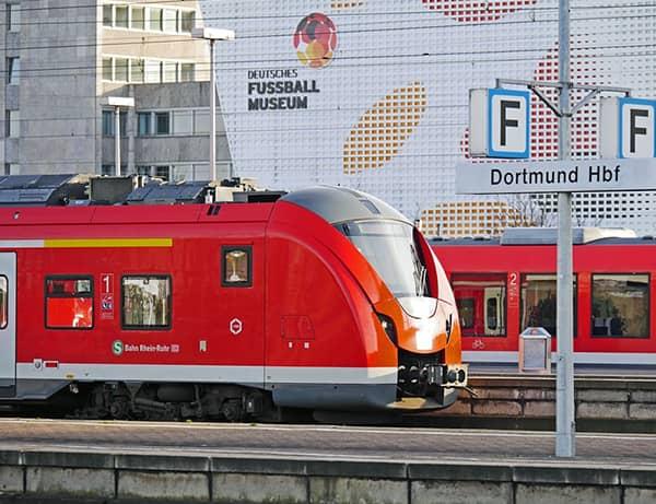 Deutsches Fussball Museum am Hauptbahnhof