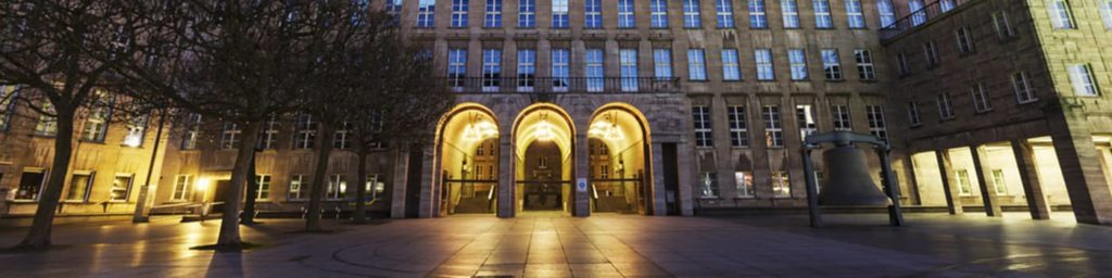 Rathaus Bochum Innenstadt