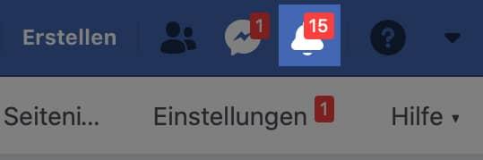 Um Ihre Facebook Agentur hinzuzufügen, müssen Sie nur noch die Benachrichtigung bestätigen.