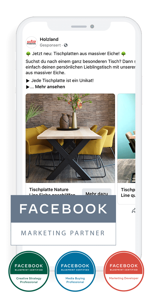 Facebook Marketing Agentur - Facebook Ads